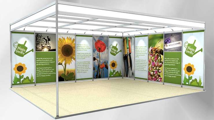 Exhibition Shell Scheme Graphics