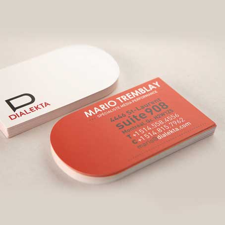 Die Cutting Business Cards
