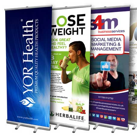 Roll up Stand Printing in Dubai