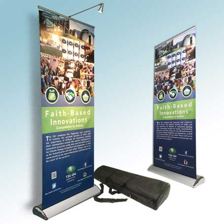 Quality Roll Up Banner Printing in Dubai