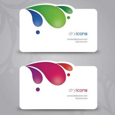 Unique Shape Business Cards
