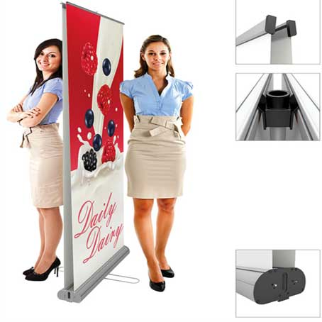 Double Sided Roll up Banner Printing