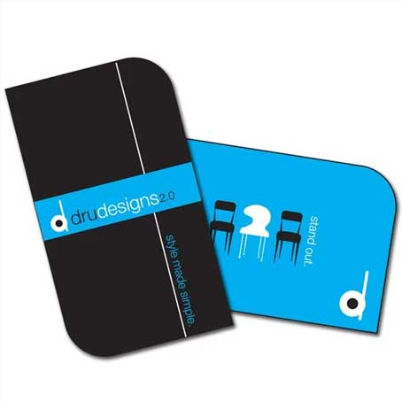 2 Round Corners Business Cards