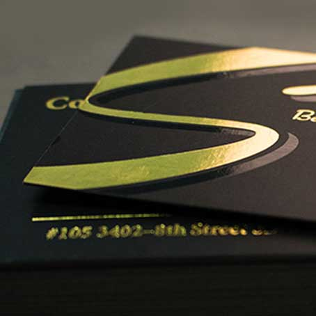 Golden Printing Business Cards