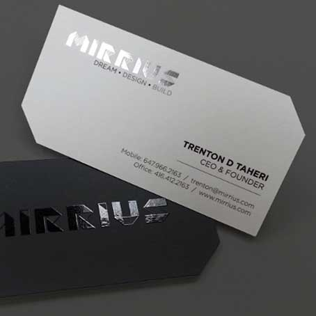 Foil Printing Business Cards