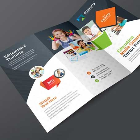 Bi-Fold Brochure Printing in Dubai