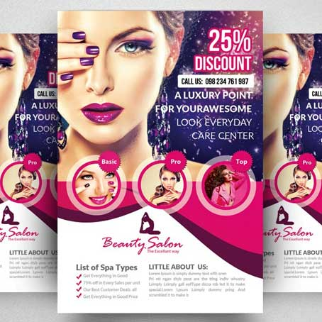 Salon Flyer Printing