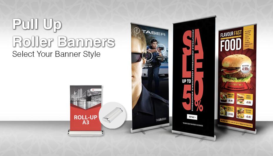Pull up Banners Printing Dubai