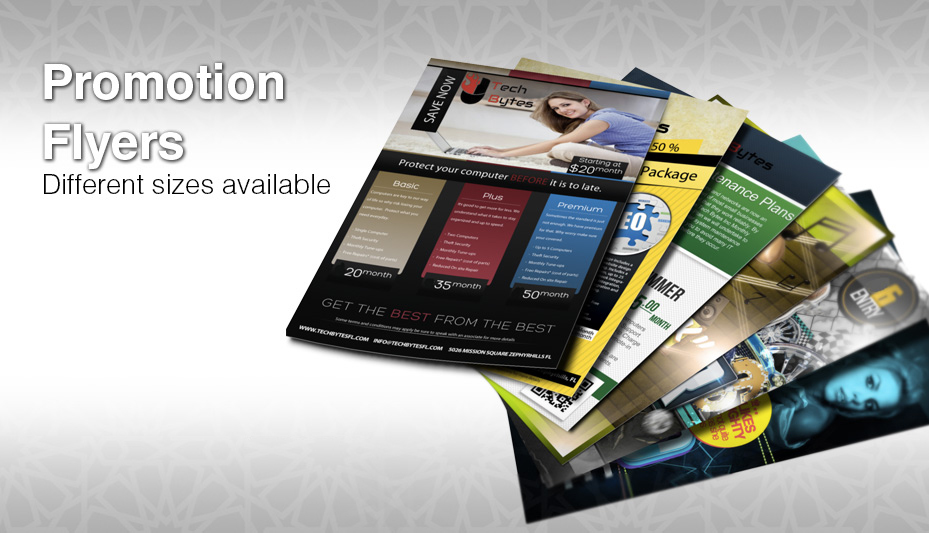 Flyer Printing in Dubai